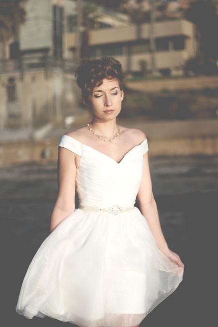 LITTLE WHITE DRESS 534