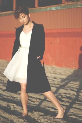 LITTLE WHITE DRESS 616
